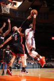 Miami Heat v New York Knicks: Raymond Felton and Carlos Arroyo Photographic Print by Nathaniel S. Butler