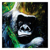 Gorilla Giclee Print