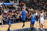 Oklahoma City Thunder v New Jersey Nets: Nick Collison Photographic Print by Jesse D. Garrabrant