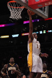 Indiana Pacers v Los Angeles Lakers: Shannon Brown Photographic Print by Jeff Gross
