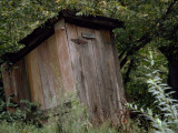 An Outhouse Photographic Print by Jodi Cobb