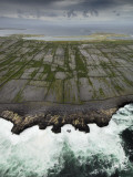 Aerial View of the Rugged Aran Islands Photographic Print by Jim Richardson