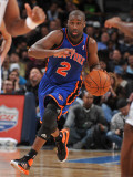 New York Knicks v Denver Nuggets: Raymond Felton Photographic Print by Garrett Ellwood