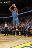 Minnesota Timberwolves v Golden State Warriors: Wesley Johnson Photographic Print by Rocky Widner
