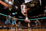 New Orleans Hornets v Miami Heat: LeBron James Photographic Print by  Mike