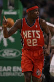New Jersey Nets v Boston Celtics: Anthony Morrow Photographic Print by  Elsa