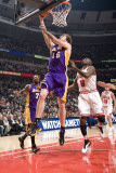 Los Angeles Lakers v Chicago Bulls: Pau Gasol and Luol Deng Photographic Print by Andrew Bernstein