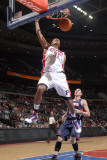 Atlanta Hawks v Detroit Pistons: Charlie Villanueva and Mike Bibby Photographic Print by Allen Einstein