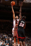 Miami Heat v New York Knicks: Landry Fields and Joel Anthony Photographic Print by Nathaniel S. Butler