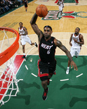 Miami Heat v Milwaukee Bucks: LeBron James Photographic Print by Gary Dineen
