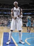 New Orleans Hornets v Dallas Mavericks: Jason Terry Photographic Print by Danny Bollinger