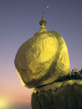 Kyaikhtiyo Pagoda on the Golden Rock Photographic Print by Alison Wright