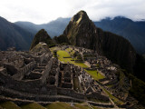 High Angle View of Machu Picchu, an Archaeological Site in Peru Photographic Print by Michael Hanson