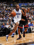 Miami Heat v Orlando Magic: Rashard Lewis Photographic Print by Fernando Medina