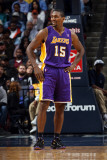 Los Angeles Lakers v Memphis Grizzlies: Ron Artest Photographic Print by Joe Murphy