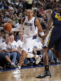 Utah Jazz v Dallas Mavericks: Shawn Marion and Jeremy Evans Photographic Print by Glenn James