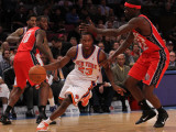 New Jersey Nets v New York Knicks: Toney Douglas Photographic Print by Nick Laham
