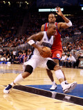 Philadelphia 76ers v Orlando Magic: Quentin Richardson and Andre Iguodala Photographic Print by Sam Greenwood