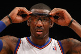 Miami Heat v New York Knicks: Amar'e Stoudemire Photographic Print by Al Bello