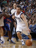 Detroit Pistons v Dallas Mavericks: Jose Juan Barea Photographic Print by Danny Bollinger