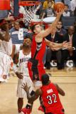Toronto Raptors v Charlotte Bobcats: Linas Kleiza Photographic Print by  Kent