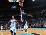 Utah Jazz v New Orleans Hornets: Paul Millsap Photographic Print by Layne Murdoch