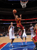 Cleveland Cavaliers  v Philadelphia 76ers: Ramon Sessions, Jrue Holiday and Evan Turner Photographic Print by Jesse D. Garrabrant