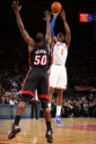 Miami Heat v New York Knicks: Amar'e Stoudemire and Joel Anthony Photographic Print by Nathaniel S. Butler