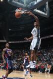 Washington Wizards v Atlanta Hawks: Trevor Booker Photographic Print by Scott Cunningham