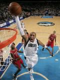 Houston Rockets v Dallas Mavericks: Shawn Marion and Jordan Hill Photographic Print by Glenn James