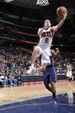 Atlanta Hawks v New Jersey Nets: Jordan Farmar Photographic Print by David Dow