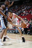 Memphis Grizzlies v Houston Rockets: Kevin Martin and Tony Allen Photographic Print by Bill Baptist