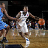 Tulsa 66ers v Texas Legends: Dominique Jones Photographic Print by Layne Murdoch