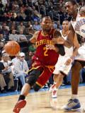 Cleveland Cavaliers  v Oklahoma City Thunder: Mo Williams and Serge Ibaka Photographic Print by Layne Murdoch