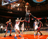 Miami Heat v New York Knicks: Dwyane Wade and Wilson Chandler Photo by Nathaniel S. Butler