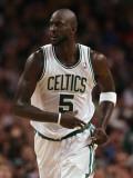 Portland Trail Blazers v Boston Celtics: Kevin Garnett Photographic Print by  Elsa