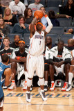 Minnesota Timberwolves v Charlotte Bobcats: Stephen Jackson Photographic Print by Kent Smith