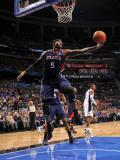 Atlanta Hawks v Orlando Magic: Josh Smith Fotografisk tryk af Fernando Medina