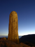 A Celtic Standing Stone Photographic Print by Jim Richardson