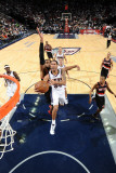 Portland Trail Blazers v New Jersey Nets: Devin Harris Photographic Print by David Dow