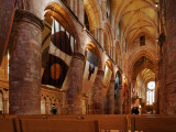 Interior View of St Magnus Cathedral Photographic Print by Jim Richardson