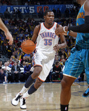 New Orleans Hornets v Oklahoma City Thunder: Kevin Durant Photographic Print by Layne Murdoch
