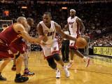 Cleveland Cavaliers  v Miami Heat: Chris Bosh Photographic Print by Mike Ehrmann