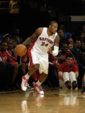 Atlanta Hawks v Toronto Raptors: Sonny Weems Photographic Print by Ron Turenne