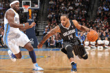 Orlando Magic v Denver Nuggets: Jameer Nelson and Ty Lawson Photographic Print by Garrett Ellwood