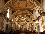 The Interior of a Chapel in the Dominican Monastery Church of Ocotlan Photographic Print by Raul Touzon