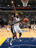 Miami Heat v Memphis Grizzlies: Zach Randolph and Chris Bosh Photographic Print by Joe Murphy