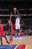 Toronto Raptors v Philadelphia 76ers: Jrue Holiday Photographic Print by David Dow