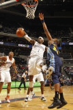 Denver Nuggets v Charlotte Bobcats: Stephen Jackson Photographic Print by Kent Smith