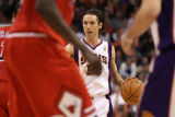 Chicago Bulls v Phoenix Suns: Steve Nash Photographic Print by Christian Petersen